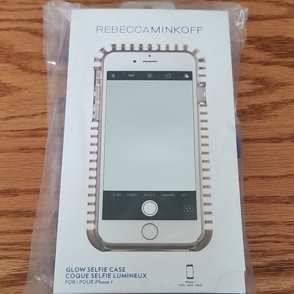 Rebecca Minkoff glow selfie case NWT iPhone 7